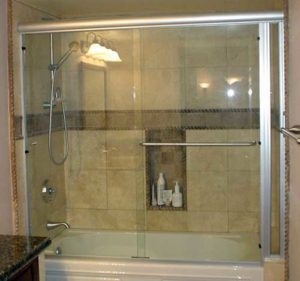 sliding glass tub enclosure