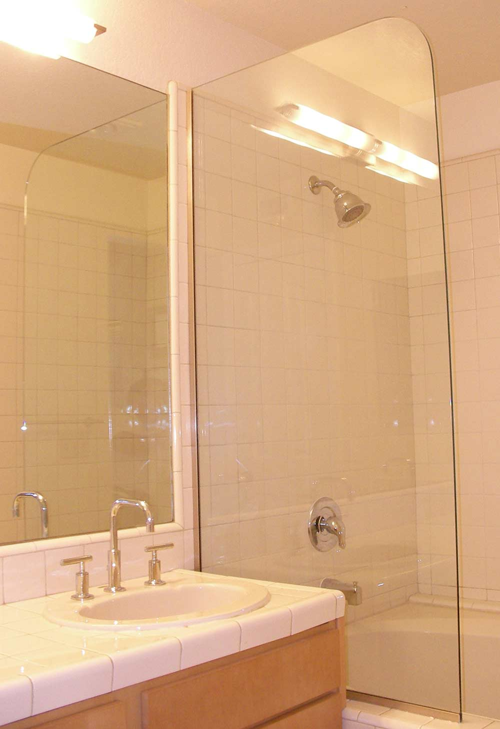 Shower Door Glass Best Choice One Glass Panel
