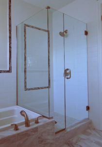 shower enclosure, door-glass-panel