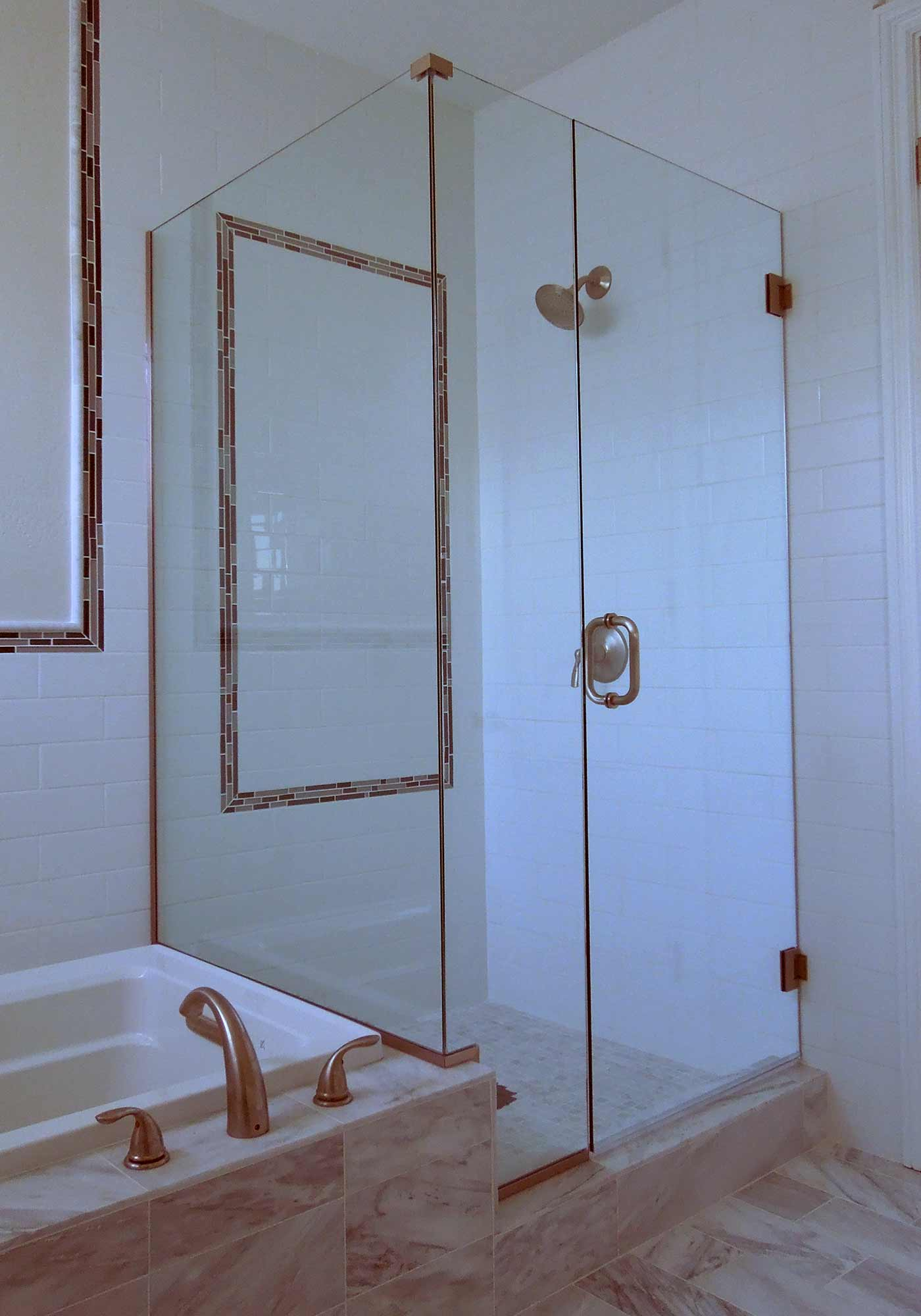 Shower Enclosure Door Gl Panel
