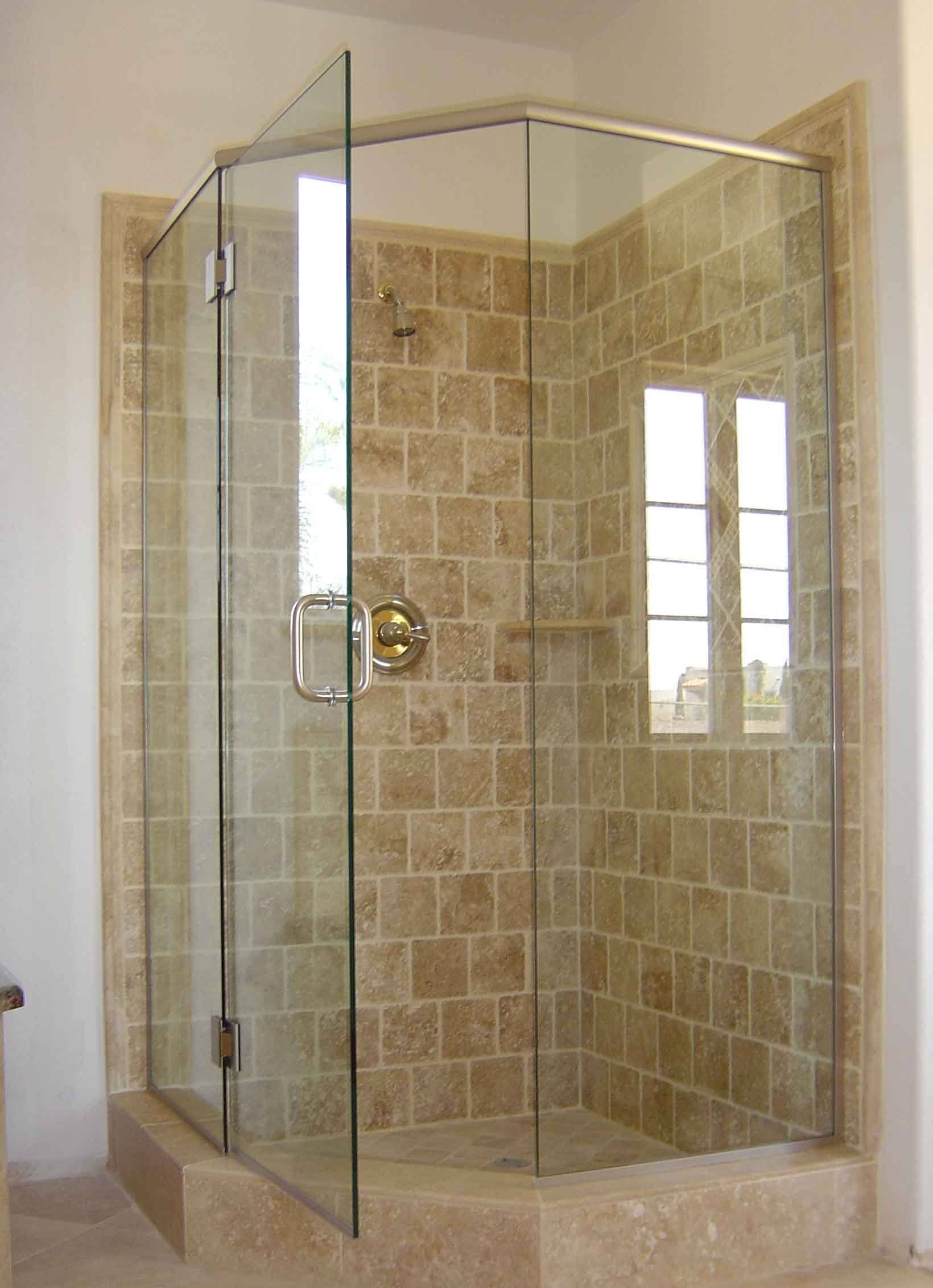 how to build a stand up shower